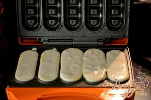 Клубничные вафли на завтрак