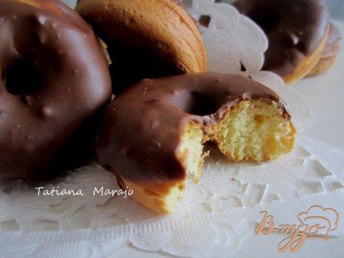 Пончики с молочным шоколадом