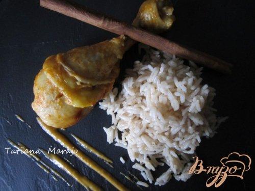 Куриные ножки с пряным рисом