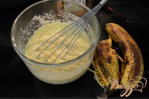 Бананово-медовый кекс