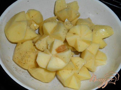 Свинина, запеченная в рукаве с картофелем