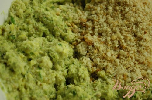 Котлетки из зеленой чечевицы