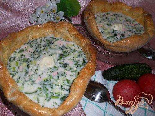 Хлебная тарелка для супа из цельнозерновой муки
