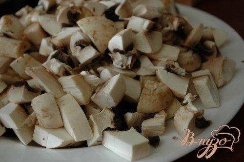 Перловка с луком и грибами