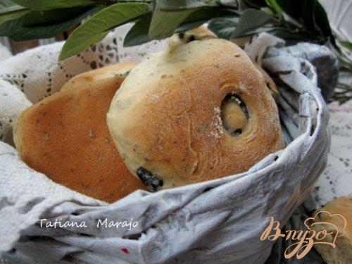 Закусочные булочки с прованскими травами и маслинами