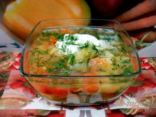 Суп с горошком и овощами