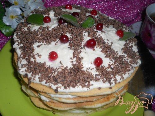 Тортик к чаю на сковороде с цельнозерновой мукой