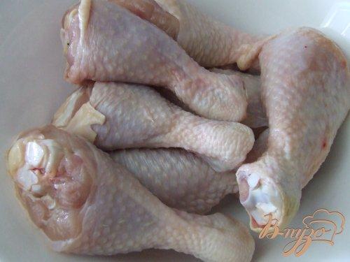 Куриные голени, запеченные в рукаве