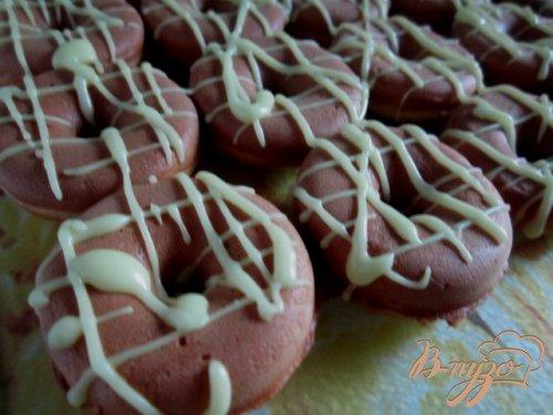Лимонные пончики