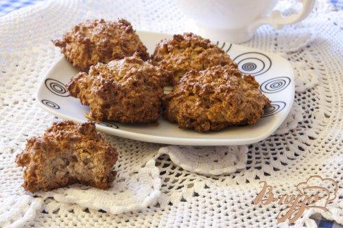 Кокосовое печенье с цельнозерновой мукой