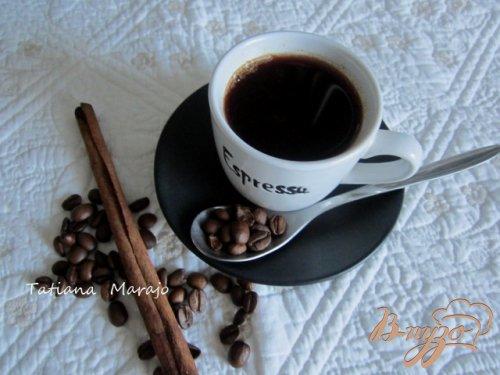 Кофе с вишневым соком и пряностями