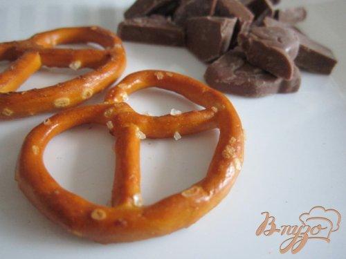 Шоколадные брецельки