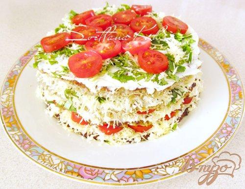 Баклажанный торт