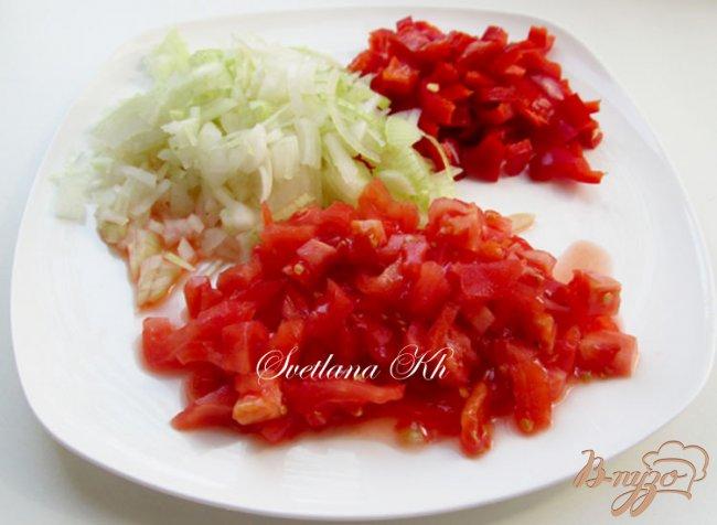 Фото приготовление рецепта: Постный суп - гуляш с грибами по - венгерски шаг №1