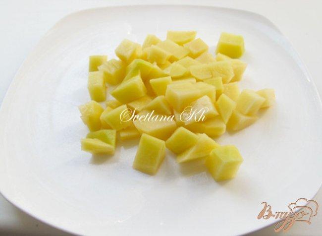 Фото приготовление рецепта: Постный суп - гуляш с грибами по - венгерски шаг №3