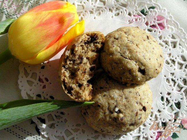 Фото приготовление рецепта: Шоколадное печенье с солью от Армана Арналя шаг №10