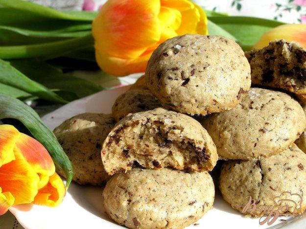 фото рецепта: Шоколадное печенье с солью от Армана Арналя