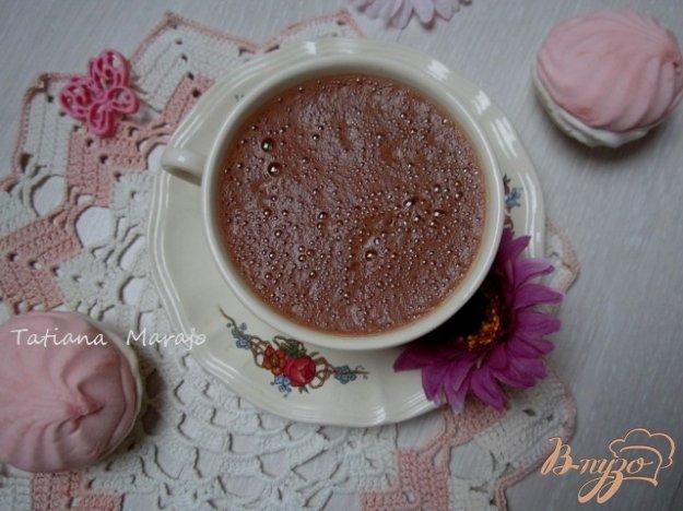 Рецепт Горячий шоколад с зефиром