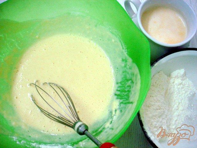 Фото приготовление рецепта: Тыквенные блинчики со шпинатом и творогом шаг №2