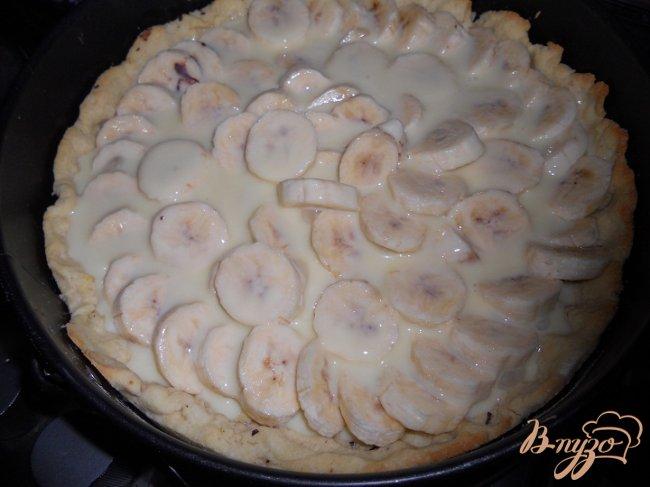 Фото приготовление рецепта: Нежный банановый тарт шаг №5