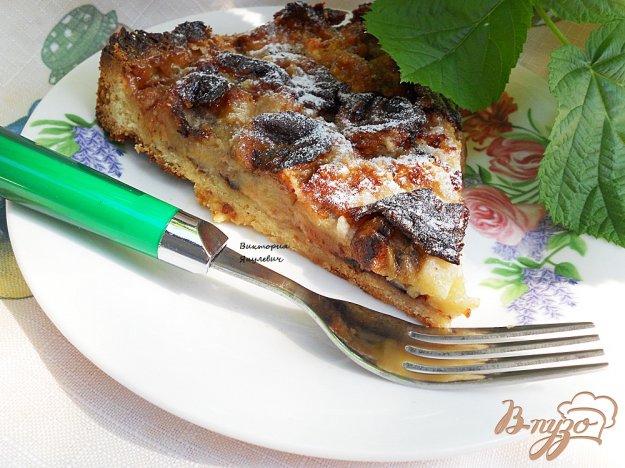 фото рецепта: Нежный банановый тарт