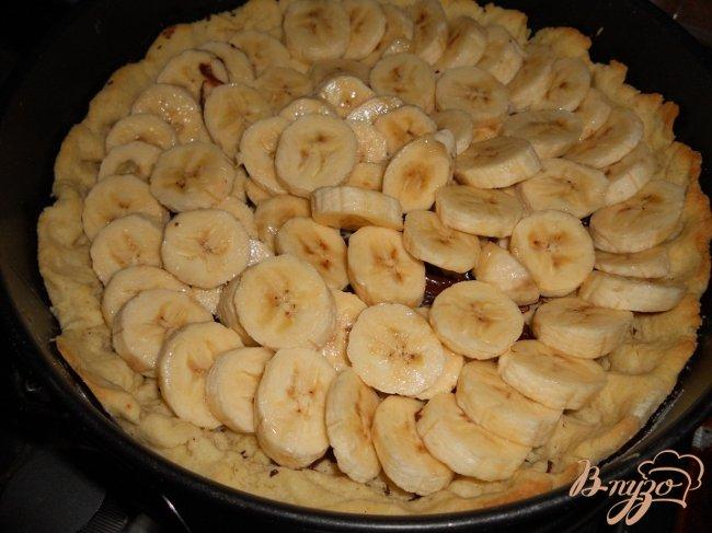 Фото приготовление рецепта: Нежный банановый тарт шаг №4