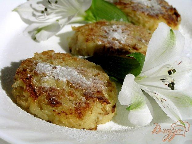Рецепт Лимонно-яблочные оладьи без муки и сахара