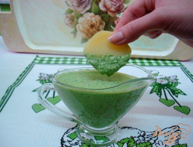 фото рецепта: Зелёный соус