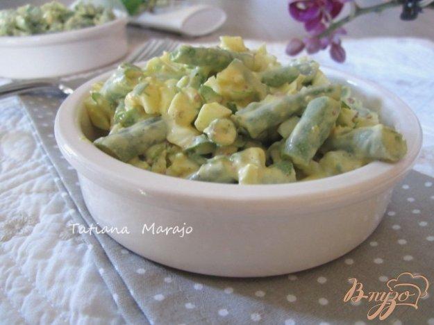 Рецепт Яичный салат со стручковой фасолью