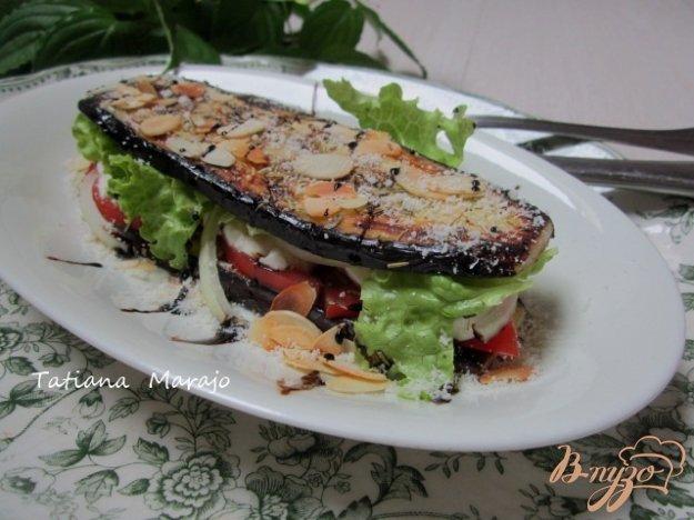 Рецепт Баклажановый сендвич