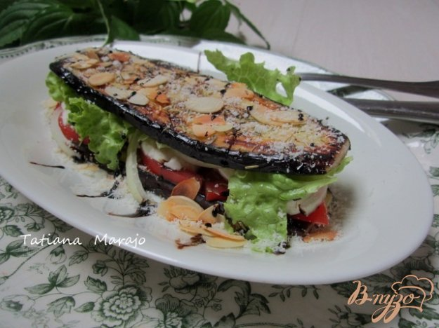 фото рецепта: Баклажановый сендвич