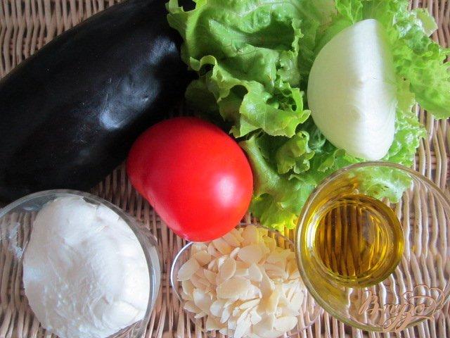 Фото приготовление рецепта: Баклажановый сендвич шаг №1