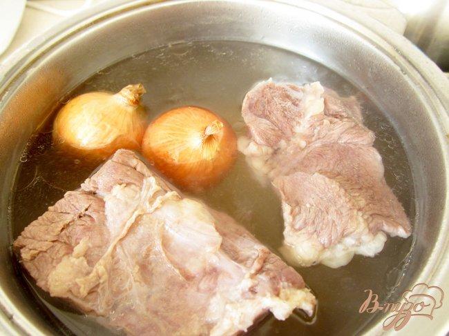 Фото приготовление рецепта: Буженина из говядины. шаг №3