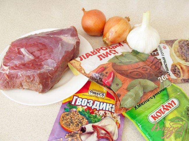 Фото приготовление рецепта: Буженина из говядины. шаг №1