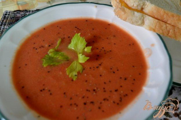 Рецепт Быстрый томатный суп