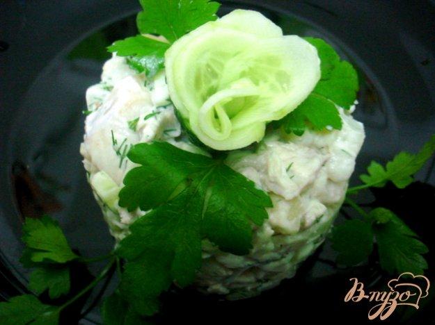 фото рецепта: Салат из хека