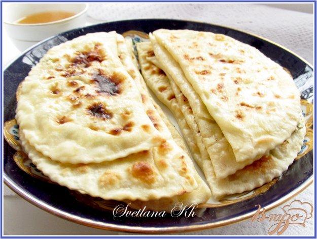 Рецепт Кутабы с пикантной творожной начинкой