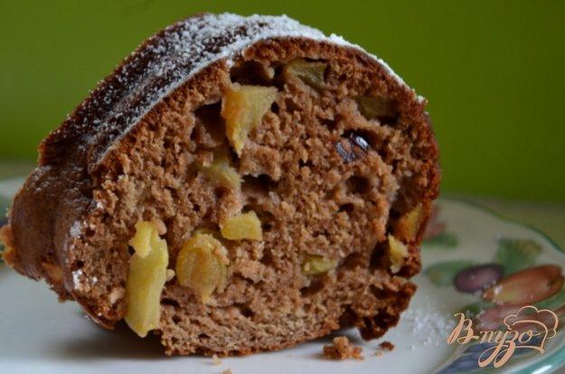 Рецепт Яблочный кекс с изюмом и клюквой