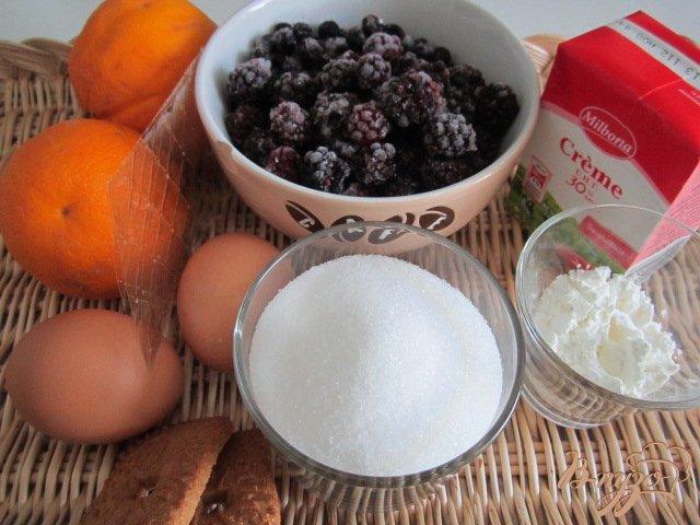 Фото приготовление рецепта: Ягодно-фруктовый трайфл шаг №1