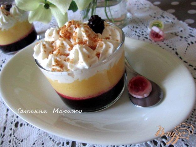 фото рецепта: Ягодно-фруктовый трайфл