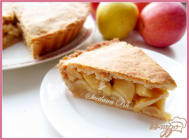 нега яблочный Рецепт пирог