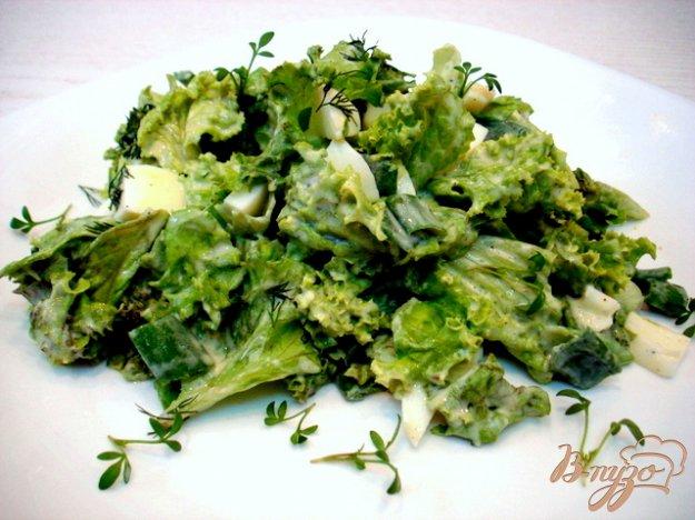 Рецепт Салат из листового салата