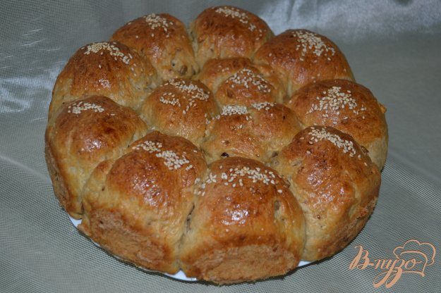Рецепт Овсяно-пшеничные булочки с сыром и семечками