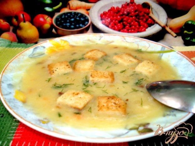 фото рецепта: Суп пюре гороховый
