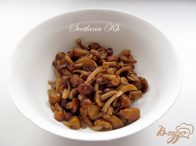 Фото приготовление рецепта: Суп с курицей и грибами шаг №2