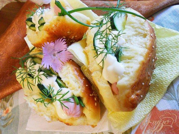 Рецепт Булочки для хот - догов