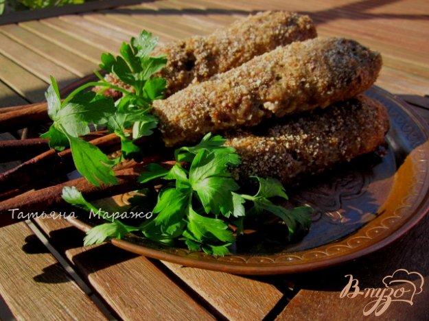 Рецепт Котлетки в виде люля-кебаб на палочках корицы