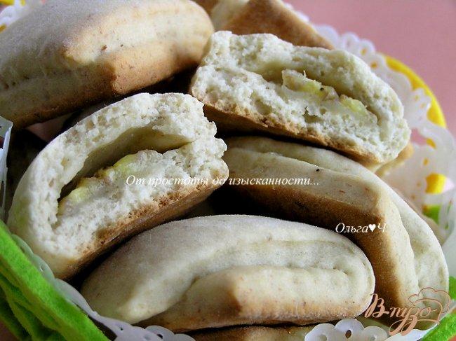 Фото приготовление рецепта: Банановое печенье шаг №6
