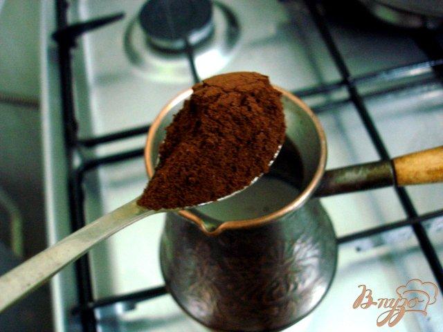 Фото приготовление рецепта: Кофе по-варшавски шаг №2