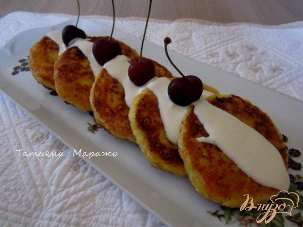 Рецепт Морковно-яблочные сырники